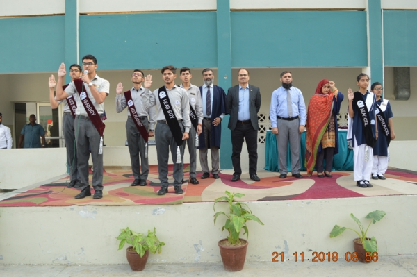 Oath Taking Ceremony 21 Nov 2019