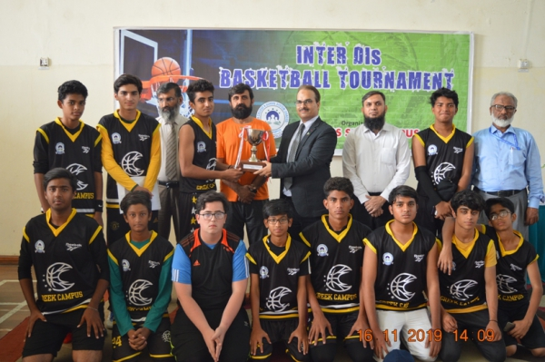 Inter DI's Basketball Tournament at DHACSS SKBZ Campus 16-Nov-2019